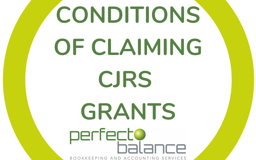 Conditions of claiming CJRS grants