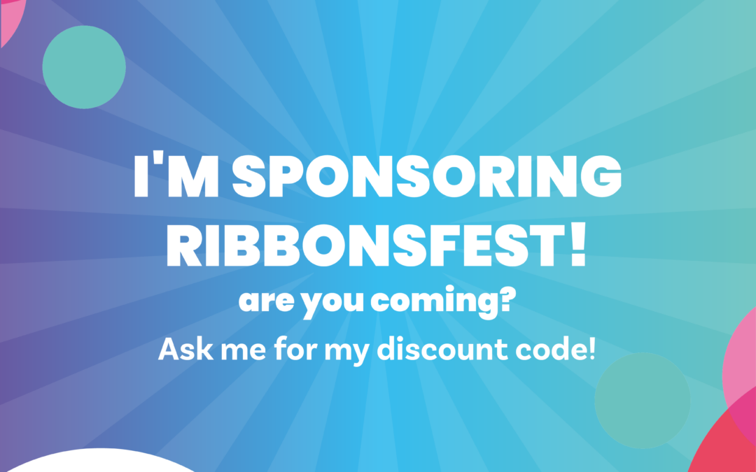 We are sponsoring Ribbons Fest 2021